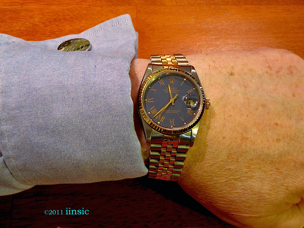 Rolex Datejust Wrist B | WatchWerx ... and Watch Doesn'tRolex Datejust 36mm On Wrist